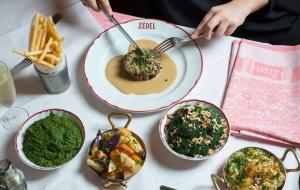 Dishes served at Zedel