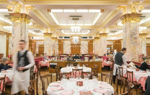 The interior of Zedel
