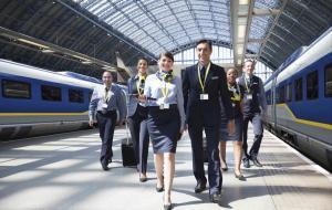The Eurostar Station crew