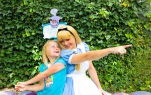 Cinderella at Disneyland