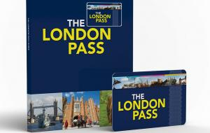 London Pass card and book