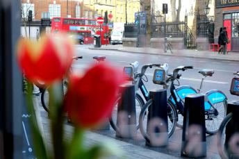 Cycle hire available around London