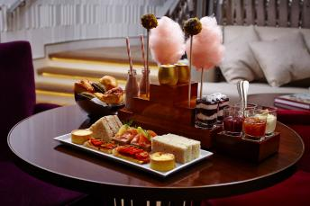 Afternoon tea served at One Aldwych
