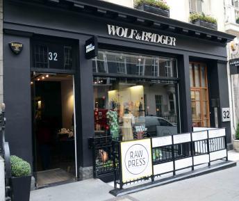 Wolf & Badger Dover Street store