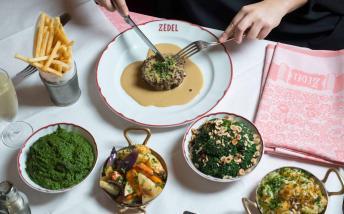 Dishes served at Zedel