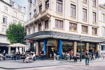 The exterior of Brasserie Verschueren
