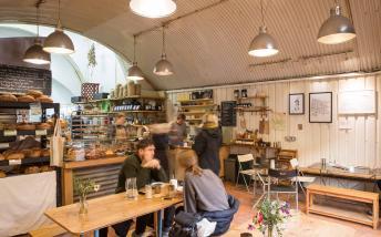 Inside E5 Cafe