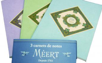 Decorative notebooks from Meert