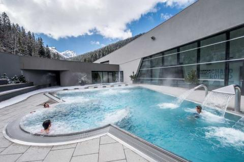 Aquamotion pool in Courchevel