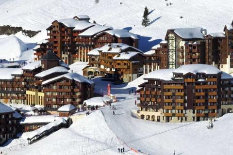 Hotels and chalets in La Plagne