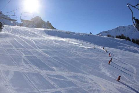 The slopes at Peisey-Villandry