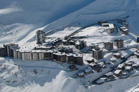 Hotels and apartments in Tignes