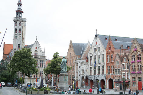 The Hansa District in Bruges