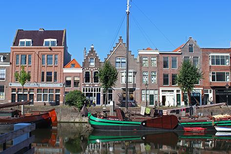 Delfshaven harbour