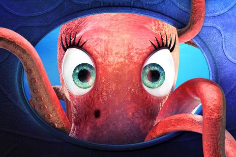 Esther, the Odyssey octopus
