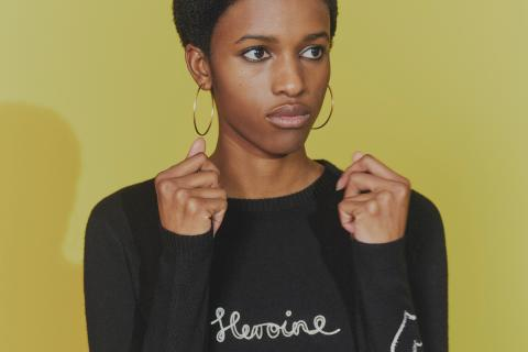 Bella Freud's 'Heroine' cashmere jumper