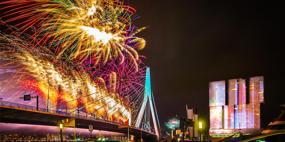 New Years Eve in Rotterdam