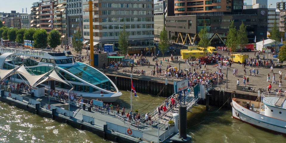 Rotterdam - Water taxi