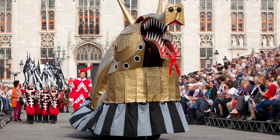 Festival in Bruges