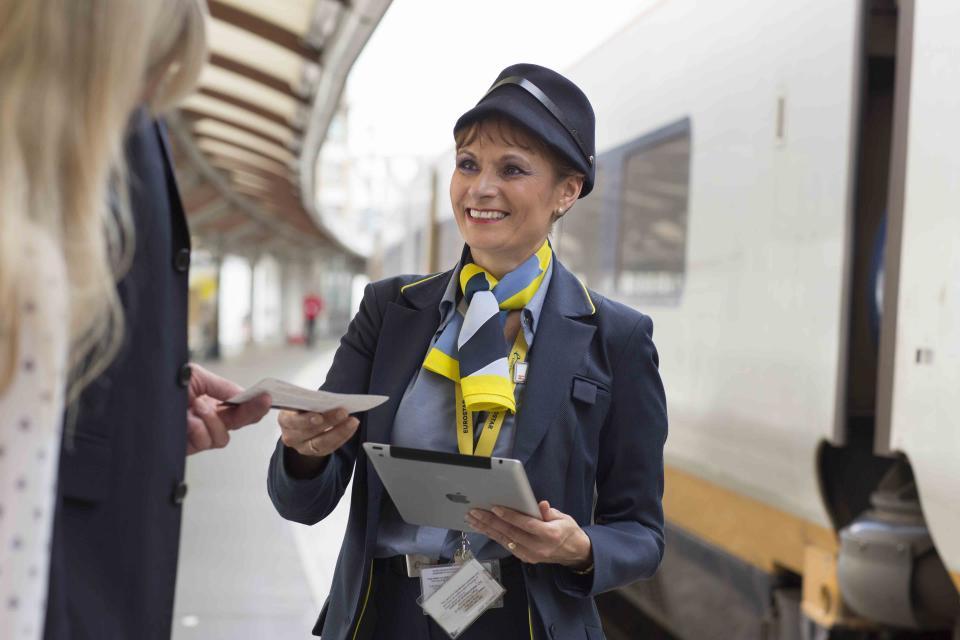 A Eurostar Station Employee