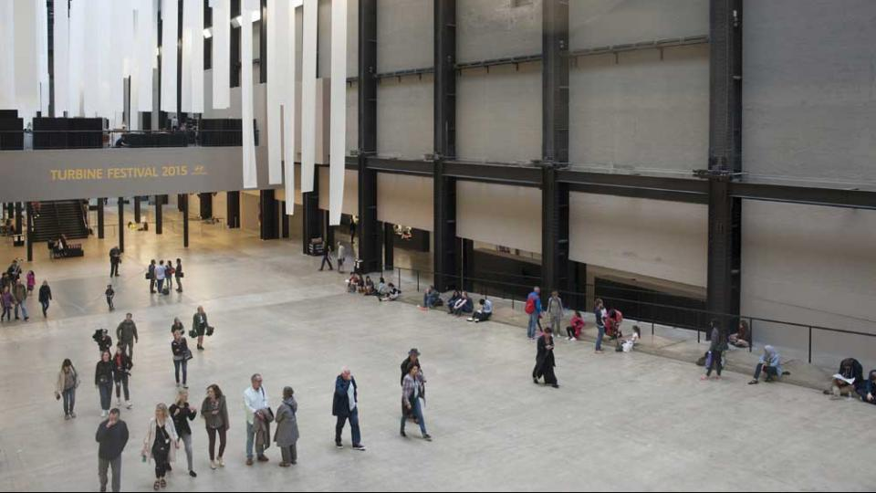 View of Turbine hall