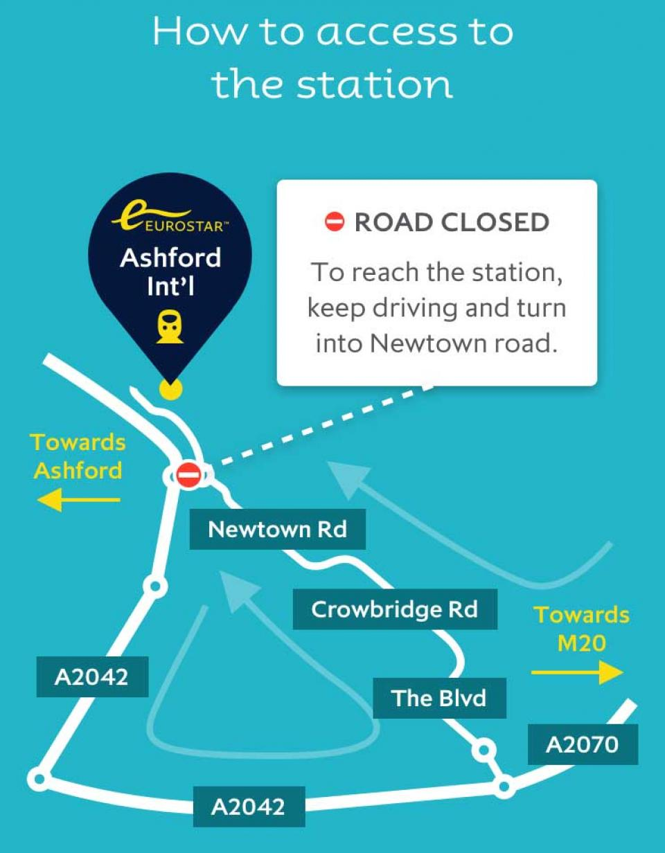 How to access Ashford International